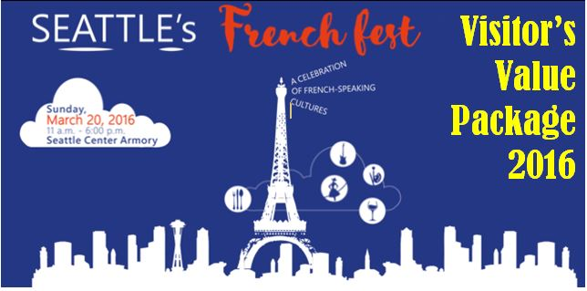 French Fest Visitor's Value Package